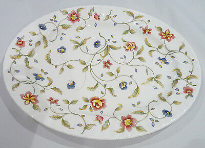 Minton TAPESTRY Pattern S770 Large  Oval Serving Meat Platter / Plate 41cm