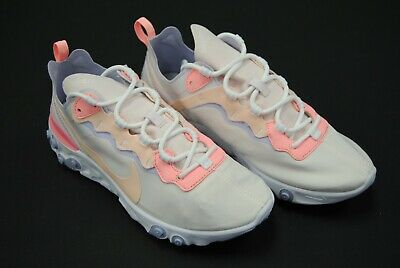 e69b13e26bcc0  Bq2728-601  New Women s Nike React Element 55 Pale Pink Washed Coral Nw97
