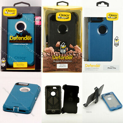 OtterBox Defender iPhone 7 Plus & iPhone 8 Plus Hard Case w/Holster Belt Clip