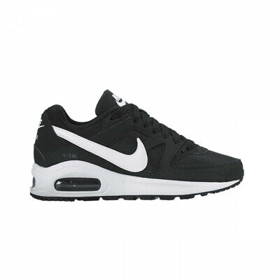 finest selection 59a33 70fd1 Chaussures Nke 844346-011 Air Max Command Flex GS Black Blanc-Blanc Mode