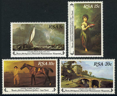 South Africa 1980 Paintings MNH