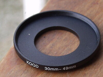 30mm  to 49mm filter step up  ring  used kood