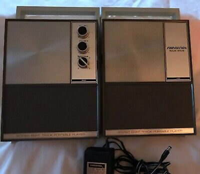Vintage Stereo 8 Track Portable Player ~ Soundesign Model 4946