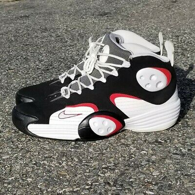 sports shoes cbaea 98a7b Nike Air Flight One Penny Retro 2012 size 11 pre owned white black red