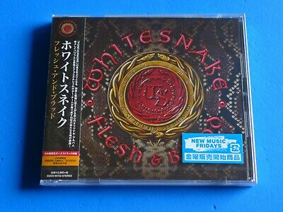 2019 JAPAN WHITESNAKE FLESH & BLOOD CD w/BONUS TRACK