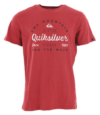 Shirt Tshirt Oberteil QUIKSILVER DROP IN DROP OUT T-Shirt 2019 brick red Tshirt