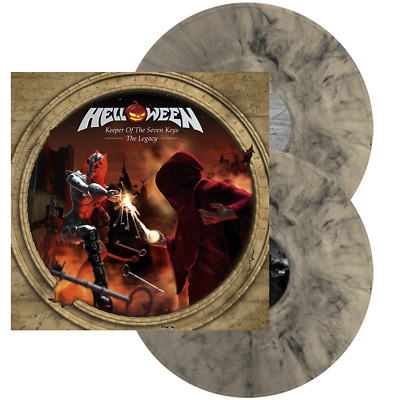 Helloween Keeper of the Seven Keys Legacy lp splatter vinyl primal fear gamma ra