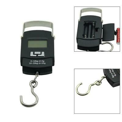 50kg LCD Digital Fish Luggage Postal Hanging Hook Electronic Weighing Scale Home