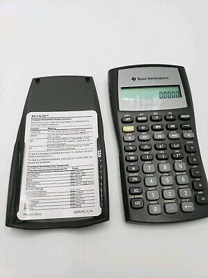 Texas Instruments BA II Plus Financial Calculator (No Instructions) Works
