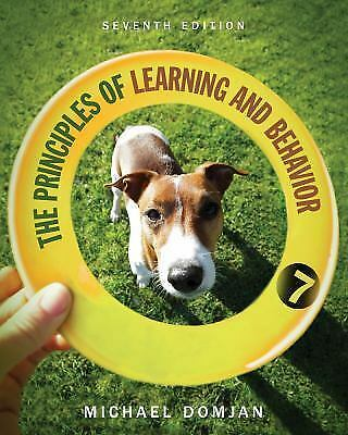 The Principles of Learning and Behavior by Michael P. Domjan (2014, Hardcover)
