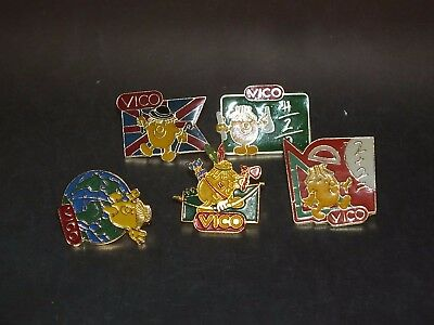 Pin's pins Alimentation Food Vico potatoes pomme de terre Purée lot sans attache