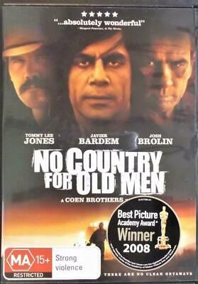 No Country For Old Men - DVD - Region 4 - see photos