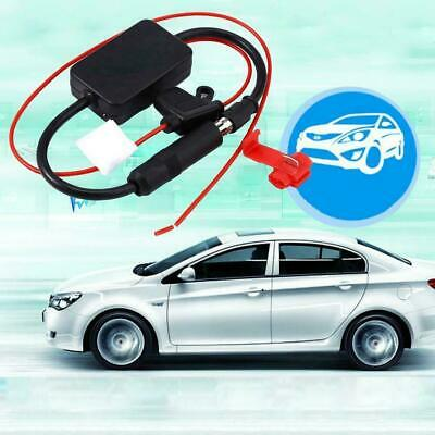 Car Fm Radio Amplifier Antenna Signal Booster Am 12v Aerial Amp Auto Stereo new