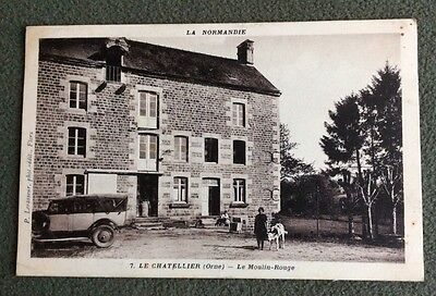 CPSM. LE CHATELLIER. 61 - Le Moulin Rouge.