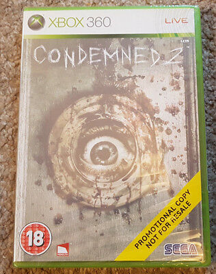 Microsoft Xbox 360 Game Condemned 2 Brand New Sealed Promo Version