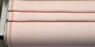14ct - 14 count Zweigart Pale Pink Aida Cloth - Choose your size