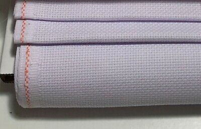 14ct - 14 count Zweigart Pale Lilac Purple  Aida Cloth - Choose your size