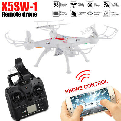X5SW Long Battery Life Drone 0.3MP Camera APP Wifi FPV 2.4Ghz Altitude Hold UK