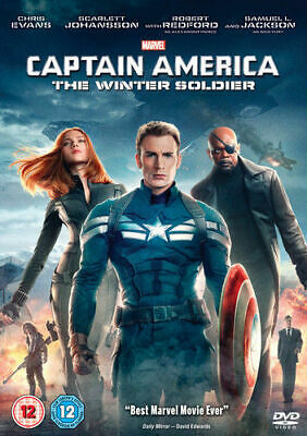 Captain America The Winter Soldier DVD 2014 - Chris Evans - New and Sealed