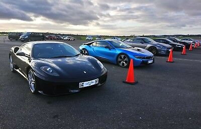 'Five Supercar' Driving Experience Gift. Valid Weekends. Reduced Price