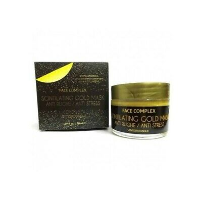 BLACK HEAD Scintilating Gold Mask - Maschera Anti Rughe Anti Stress 50 ml