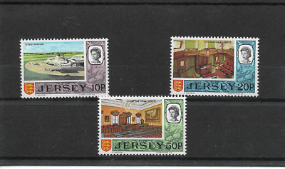 JERSEY 1970 High Value Decimal Definitives - 3 values - SG 54/56 - u/m