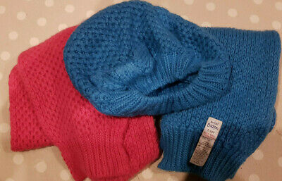 Mini Boden Bow Beret Hat and Scarf Set + bonus scarf - check me out