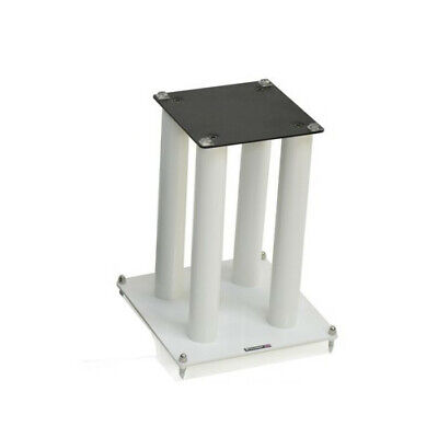 Atacama SLX 300 Speaker Stand - SINGLE - Diamond White Loudspeaker Short Mount