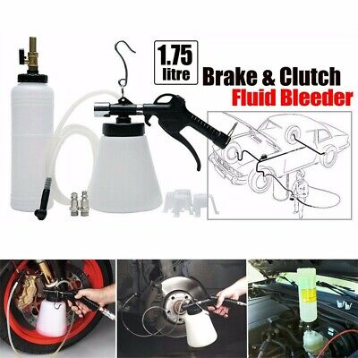 Pneumatic Car Brake Fluid Bleeder Bleeding Tool Brake Oil Replacement Kit ,1L