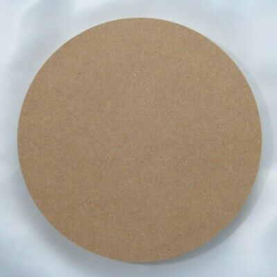750mm diameter wooden shape Circle 18mm thick Square Edged MDF 75mm