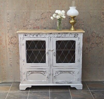 Vintage Cupboard Cabinet Bookcase Sideboard Antique - Delivery Available