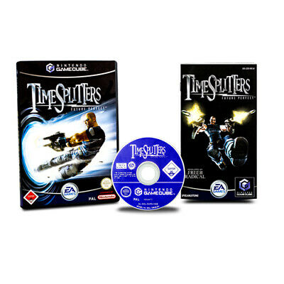 Nintendo Gamecube Spiel Timesplitters - Future Perfect (USK 18) in Ovp mit Anl.