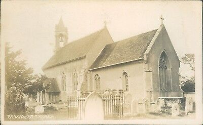 Beaumont church; 1909; Geo woodward