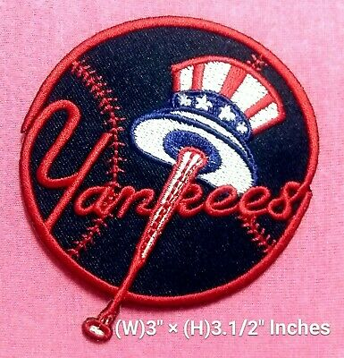 2c65504d642e2 NEW YORK YANKEES - Baseball Embroidered Iron-on Patch - $5.00 | PicClick