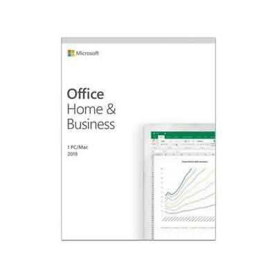 Microsoft SOFTWARE OFFICE HOME AND BUSINESS 2019 (T5D-03209) MEDIALESS (KEY CARD