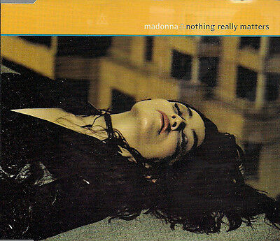 Madonna Nothing Really Matters  Part 2 UK CD Single