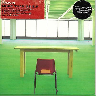 Travis More Than Us E.P CD2  with 4 colour postcard/lyric cards UK CD Single