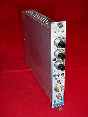 Canberra Industries Constant Fraction Timing SCA 2035A Nim Bin Module