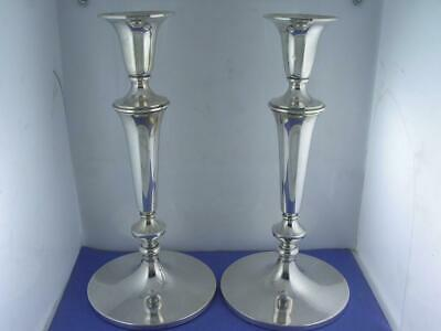 "pr Sterling BAILEY BANKS & BIDDLE 10"" Candlesticks (not weighted) 18.96 ozt"