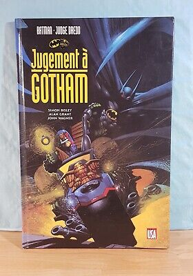 Comic VF DC _ Batman - Judge Dredd _ Jugement à Gotham _ Comics USA _ 1992