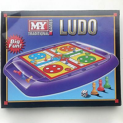 Traditional Board Games Chess Draughts Snakes & Ladders Ludo Fun For Family