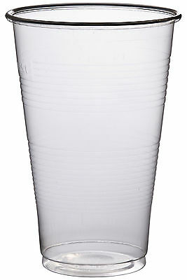 Half Pint / 300ml Disposable Beer Glasses Cups Tumblers Drink- Quality Glasses