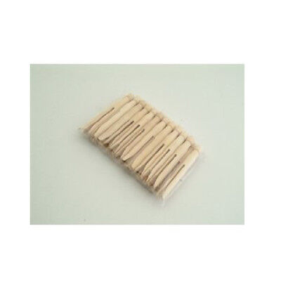 24 xTRADITIONAL CLOTHES PINS-CLOTHES DRYING OR CRAFT WOODEN DOLLY PEGS Xmas