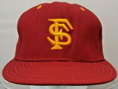 watch 3769c ab816 Florida State Seminoles NCAA vintage New Era fitted cap hat