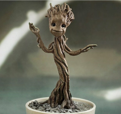 Guardians of the Galaxy vol.2 Baby Groot Figurilla Blumentopf Stil Geschenk Neu
