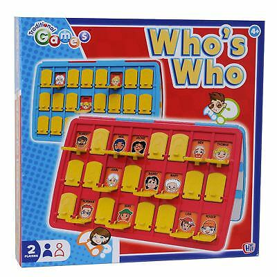 Traditional Guessing Game Guess Who Family Fun  Board Toy Adults Kids Party New