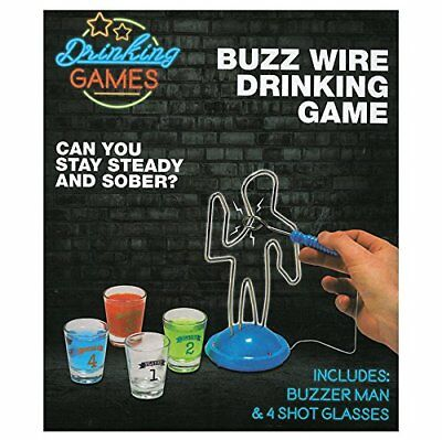 Buzz Wire Drinking Game Is A True Game A Cool Head And A Steady Hand Game