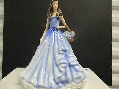 Royal Doulton TRUE LOVE-- Forget-Me-Not  NIB  (my last one)