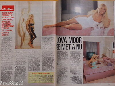 LOVA MOOR Crazy Horse - Coupure de presse 2 pages 1992 - French Clippings