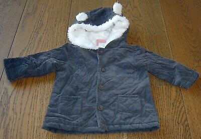 Sprout Baby Boys  Padded Hooded Jacket  Sz 0